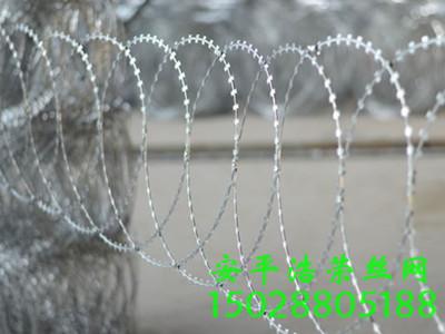平铺刀片刺绳