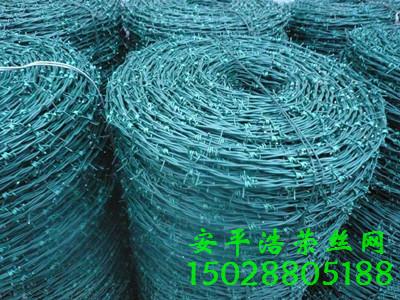 PVC包塑刺绳