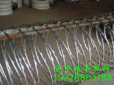 螺旋式刀片刺绳