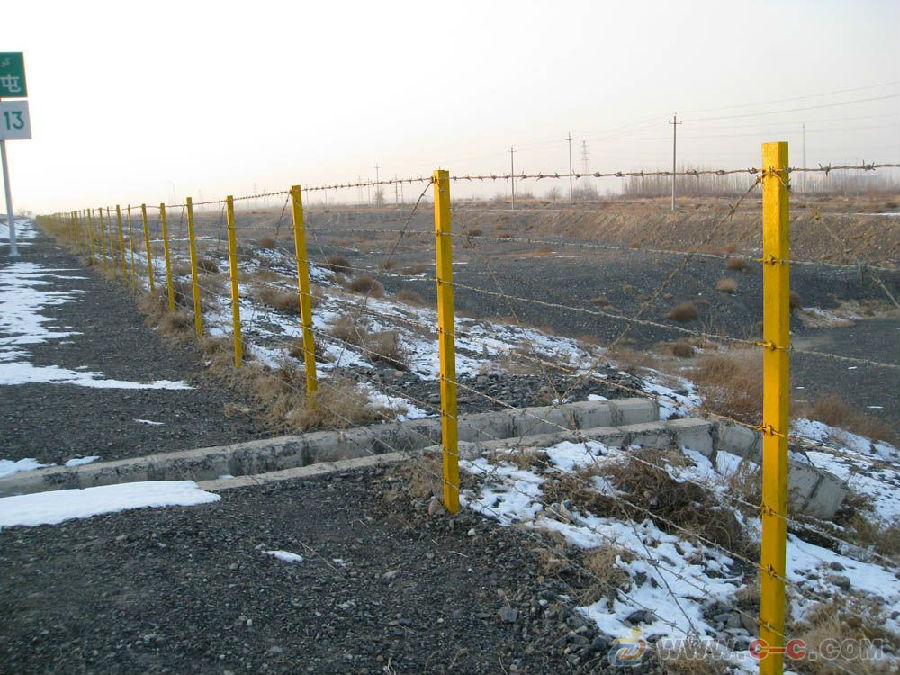 带刺铁丝网围栏