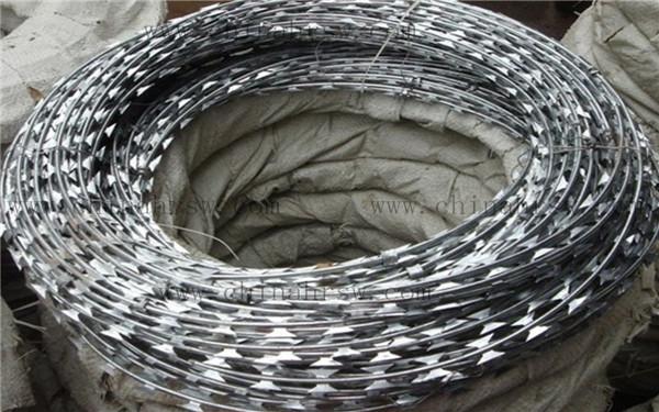 双螺旋刺绳防护网
