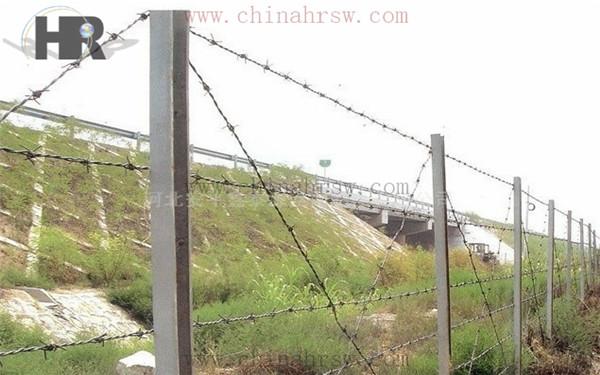 高速公路刺绳防护