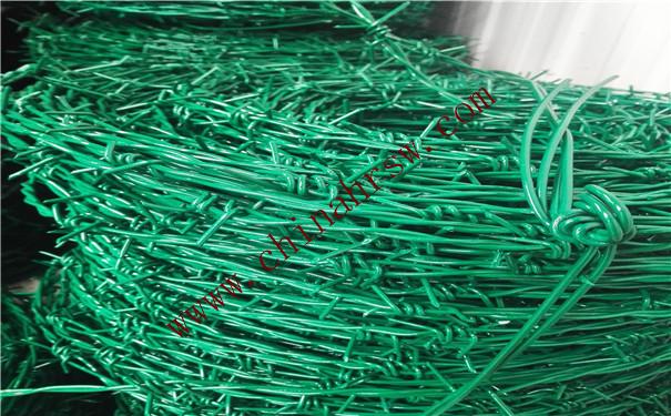 包塑刺绳实拍图