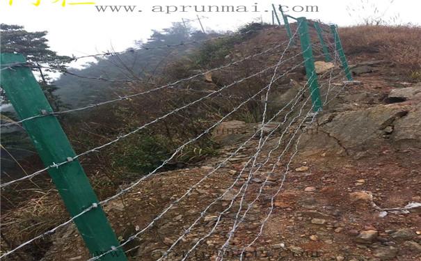 刺丝围栏安装