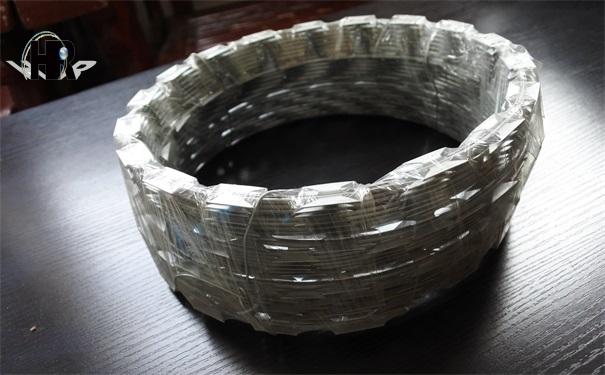 镀锌刺绳的防护作用